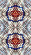 Peace Digital Art - Mandala 11 for iPhone Double by Terry Reynoldson