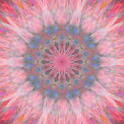 Stuart Turnbull Metal Prints - Mandala 16 Metal Print by Stuart Turnbull