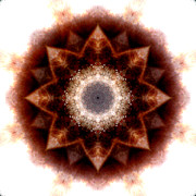 Stuart Turnbull Metal Prints - Mandala 18 Metal Print by Stuart Turnbull