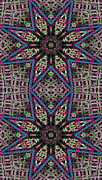 Restful Digital Art - Mandala 31 for iPhone Double by Terry Reynoldson