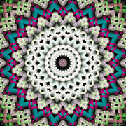 Healing Art Prints - Mandala 36 Print by Terry Reynoldson