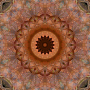 Stuart Turnbull Metal Prints - Mandala 39 Metal Print by Stuart Turnbull