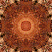 Stuart Turnbull Metal Prints - Mandala 40 Metal Print by Stuart Turnbull