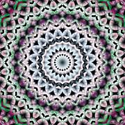 Mandala 40 Print by Terry Reynoldson