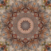 Stuart Turnbull Metal Prints - Mandala 43 Metal Print by Stuart Turnbull