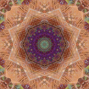 Stuart Turnbull Metal Prints - Mandala 44 Metal Print by Stuart Turnbull