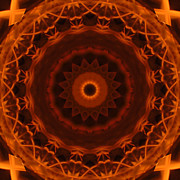 Stuart Turnbull Metal Prints - Mandala 48 Metal Print by Stuart Turnbull