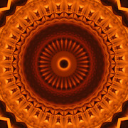 Stuart Turnbull Metal Prints - Mandala 49 Metal Print by Stuart Turnbull