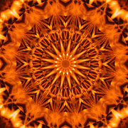 Stuart Turnbull Metal Prints - Mandala 61 Metal Print by Stuart Turnbull