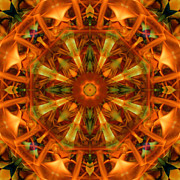 Stuart Turnbull Metal Prints - Mandala 66 Metal Print by Stuart Turnbull