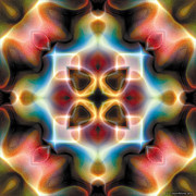 New Age Art Posters - Mandala 77 Poster by Terry Reynoldson