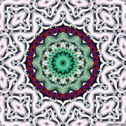 Mandala 8 Print by Terry Reynoldson