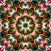 New Age Art Posters - Mandala 80 Poster by Terry Reynoldson