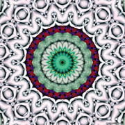 Nirvana Prints - Mandala 9 Print by Terry Reynoldson