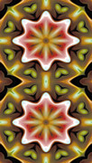Beautiful Photo Prints - Mandala 93 for iPhone Double Print by Terry Reynoldson