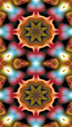 Peace Prints - Mandala 94 for iPhone Double Print by Terry Reynoldson