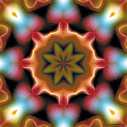 Mystical Prints - Mandala 94 Print by Terry Reynoldson