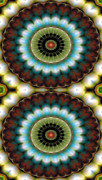 Mystical Prints - Mandala 99 for iPhone Double Print by Terry Reynoldson