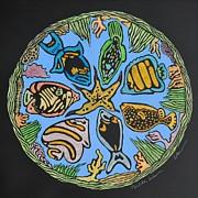 Mandala Caribe Print by Diane Cutter