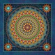 Mandala Fantasia Print by Bedros Awak