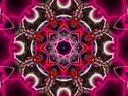 Mandala Of The Unseen Print by Edward Anderson