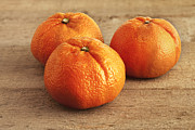 Orange Metal Prints - Mandarin Oranges Metal Print by Colin and Linda McKie