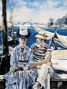 Technical Photo Prints - Manet, Édouard 1832-1883. Argenteuil Print by Everett