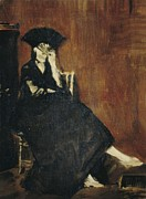 Morisot Photos - Manet, Édouard 1832-1883. Berthe by Everett
