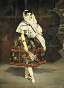Ballet Dancers Photo Prints - Manet, Édouard 1832-1883. Lola De Print by Everett