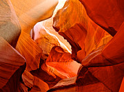 Manger Scene In Lower Antelope Canyon-az Print by Ruth Hager