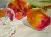 Mango Painting Originals - Mangoes  by Julianne Felton