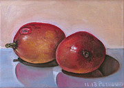 Mango Painting Originals - Mangoes by Petrovich