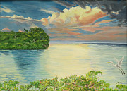 Hilda and Jose Garrancho - Mangrove Sunset