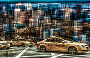 Hannes Cmarits - Manhattan - Yellow Cabs - future