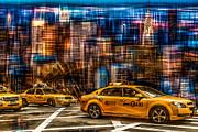 Hannes Cmarits - Manhattan - Yellow Cabs I