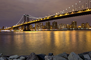 Leslie Leda - Manhattan Bridge Lights