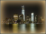 David Kovac Metal Prints - Manhattan  Metal Print by David Kovac