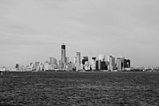 11 Wtc Digital Art Metal Prints - MANHATTAN in BLACK AND WHITE Metal Print by Rob Hans