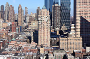 Midtown West Prints - Manhattan Midtown Impressions Landscape Print by Jannis Werner