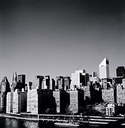 Future Of Society Metal Prints - Manhattan Metal Print by Shaun Higson