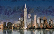 Georgi Dimitrov - Manhattan skyline