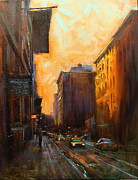 Chin H  Shin - Manhattan Sunset