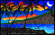 Hawai Digital Art Prints - Manini Print by Transcend Designs