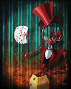 Fantasy Painting Posters - Manipulador Poster by Fabrini Crisci