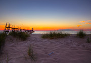 Megan Noble - Manistee at Sunset