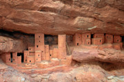 Dwelling Framed Prints - Manitou Cliff Dwellings Framed Print by Christine Till