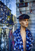 Statuary And Mannequins - Mannequin and Store Window  by Robert Ullmann