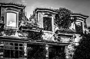 Abandonment Framed Prints - Mannor house in ruins Framed Print by Georgina Noronha