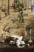 Manor Interior Print by Svetlana Sewell