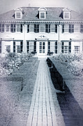 Vermont Posters - Mansion Poster by Edward Fielding